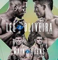 Risultati UFC Brasilia 2020: Lee vs. Oliveira 17
