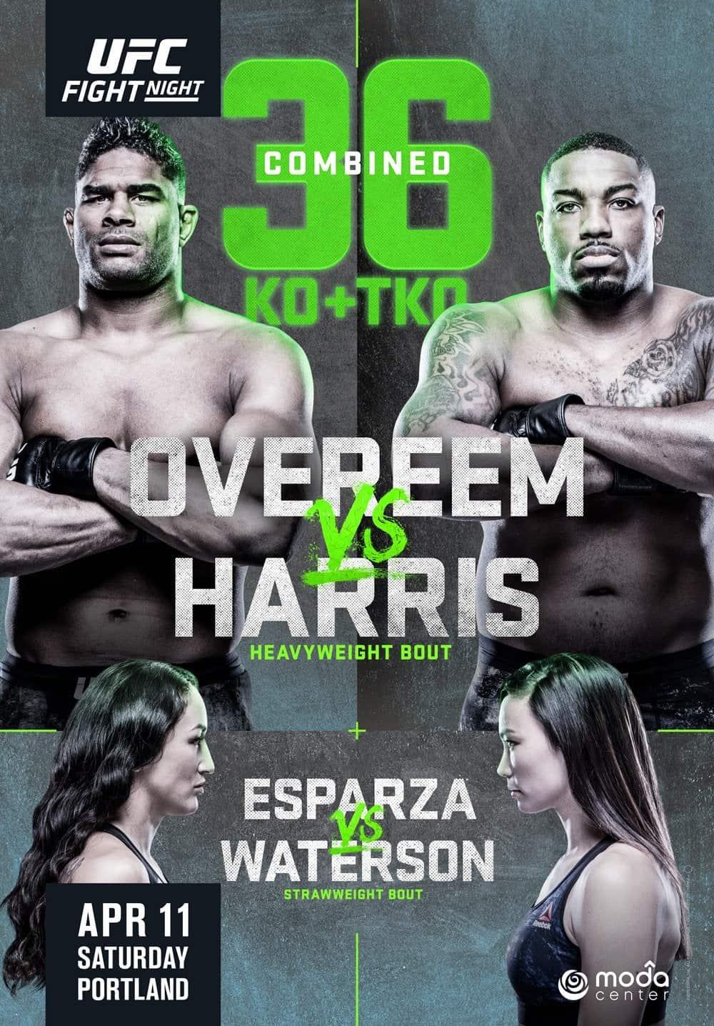 UFC Fight Night 172: Overeem vs. Harris (Con Alessio Di Chirico) 1