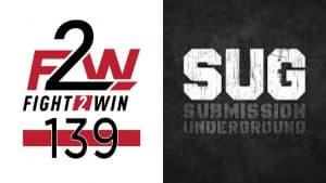 Il Jiu Jitsu riparte: F2W e SUG annunciano grandi card! 2