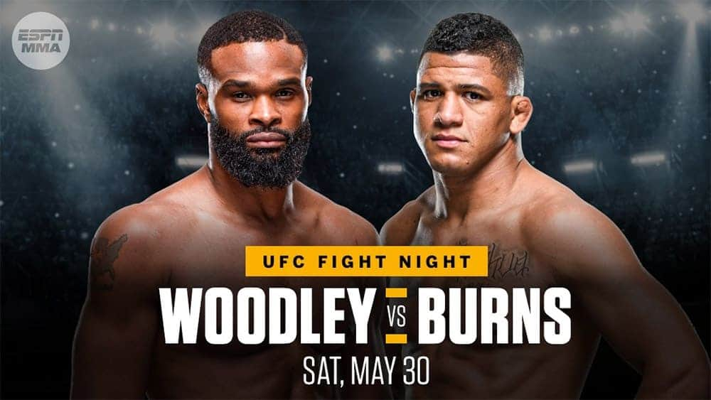 UFC on ESPN : Woodley vs Burns 3