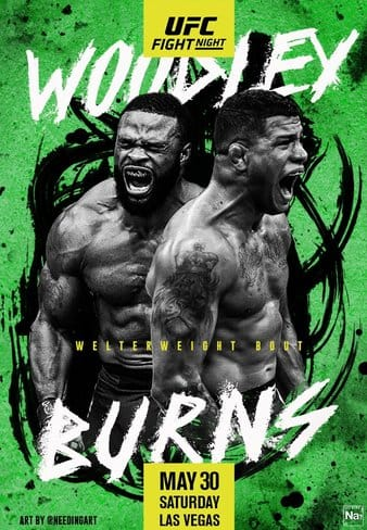 UFC on ESPN : Woodley vs Burns 4