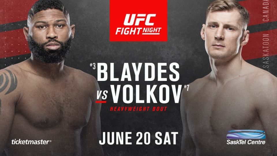 UFC Fight Night: Blaydes vs. Volkov 1