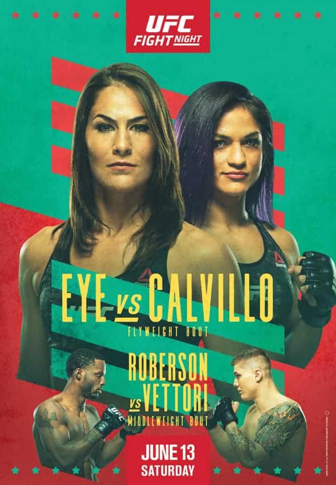 UFC on ESPN 10: Eye vs. Calvillo (con Marvin Vettori) 1