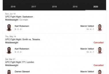 Marvin Vettori nel Main event di sabato 14