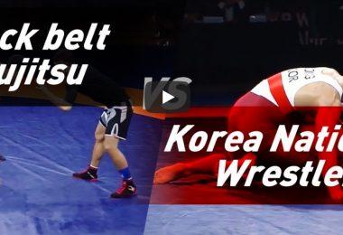 Olimpionico di lotta vs cintura nera di BJJ in un match misto Lotta & Grappling 2