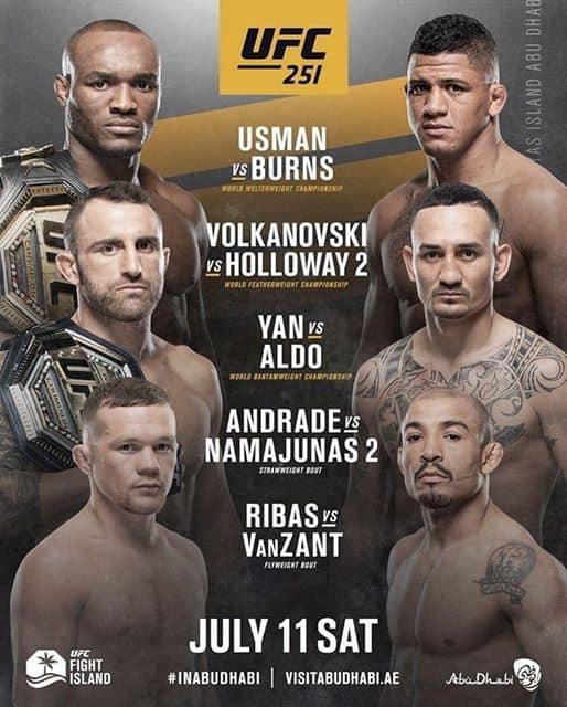 UFC 251: Usman vs. Masvidal 3