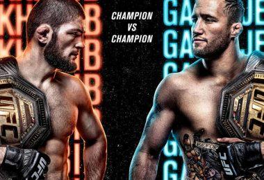 Risultati UFC 254: Khabib vs. Gaethje 3