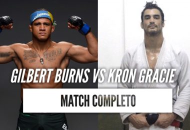 Video: Gilbert Burns vs Kron Gracie 2011 (Match Completo) 2