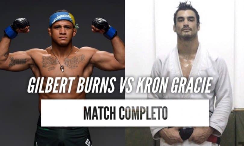 Video: Gilbert Burns vs Kron Gracie 2011 (Match Completo) 12