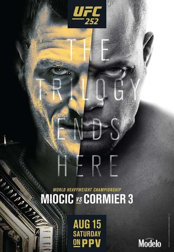 UFC 252: Miocic vs. Cormier 3 1