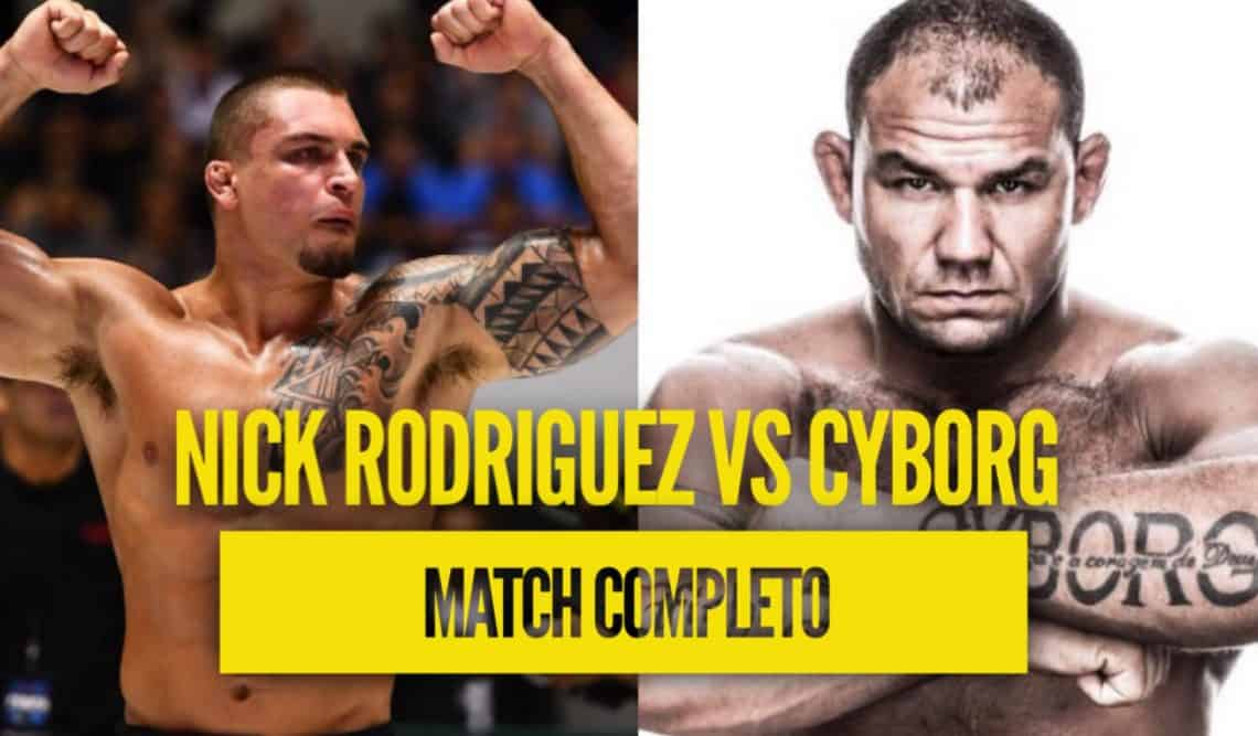 Video: Nick Rodriguez vs Cyborg 2019 (Match completo) 1