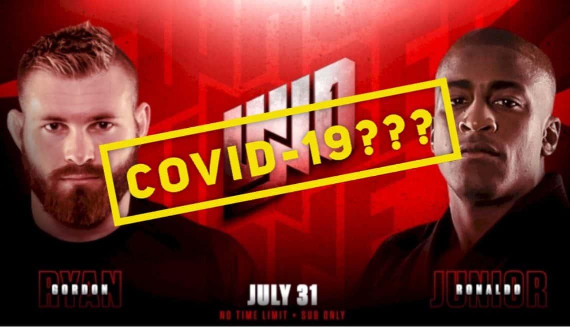 Gordon Ryan e Craig Jones hanno sintomi del Covid-19, non lotteranno il 31 1