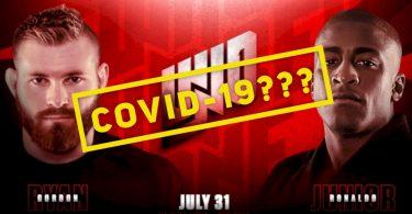 Gordon Ryan e Craig Jones hanno sintomi del Covid-19, non lotteranno il 31 22