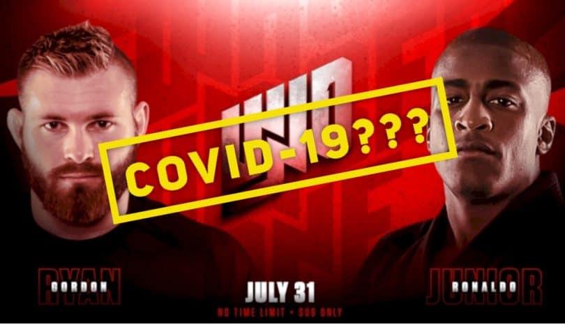 Gordon Ryan e Craig Jones hanno sintomi del Covid-19, non lotteranno il 31 2