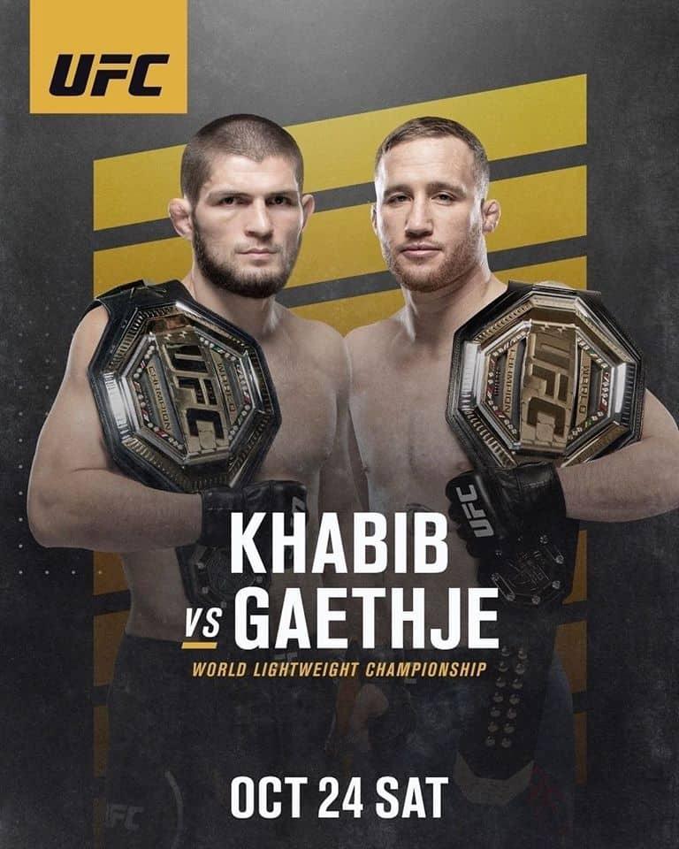 UFC 254: Khabib vs. Gaethje 2