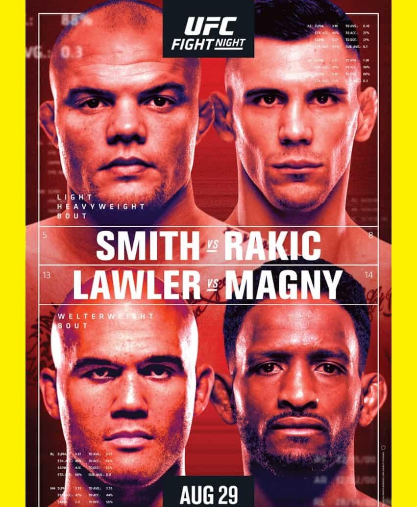 Risultati UFC Fight Night 175: Smith vs. Rakic 2