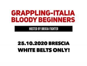 Ripartono le gare di BJJ in Italia: ritorna il Grappling-Italia Bloody Beginners 2