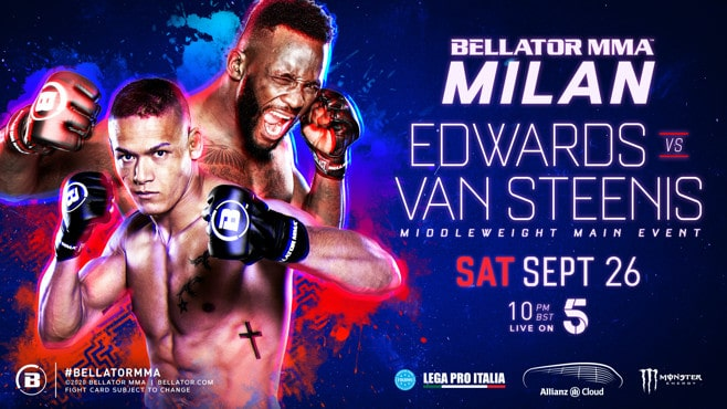 Bellator Euro Series 8 Milan: Edwards vs. van Steenis 1
