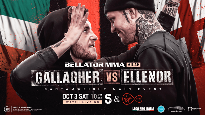 Bellator Euro Series 9 Gallagher vs. Ellenor 1