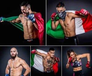 Le pagelle degli italiani nella prima card di Bellator Milano 2