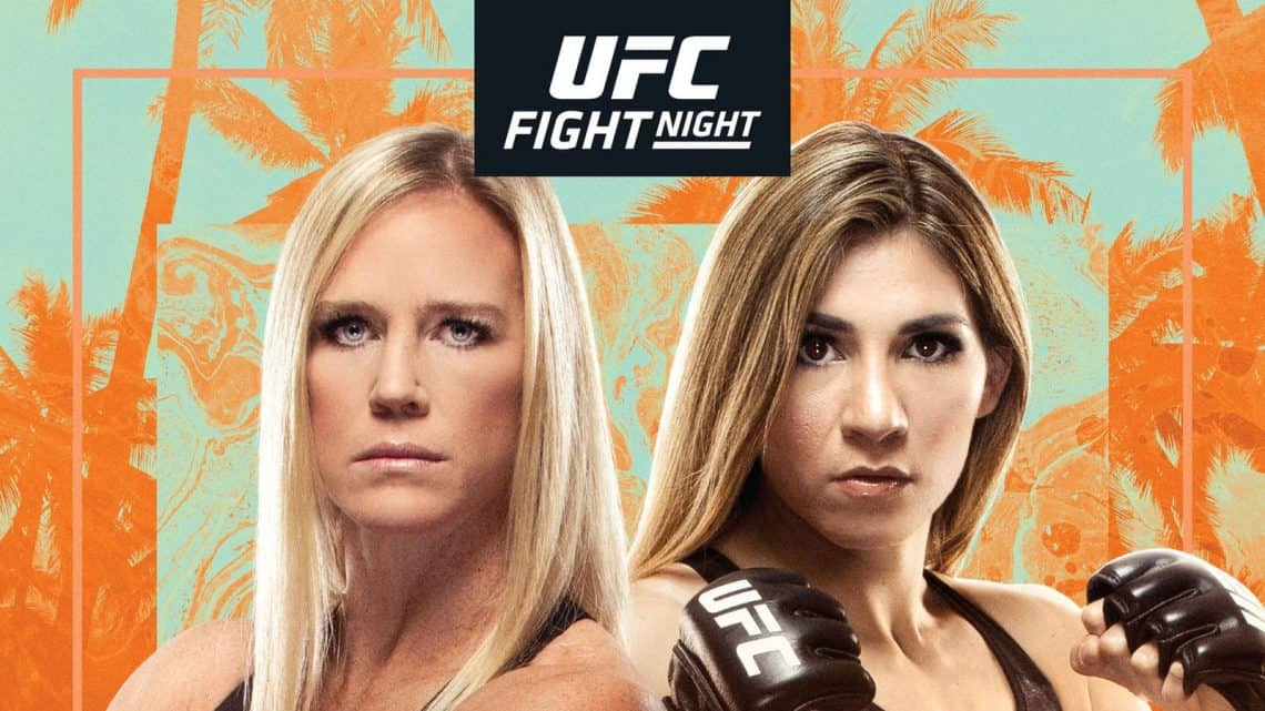 UFC on ESPN 16: Holm vs Aldana 1