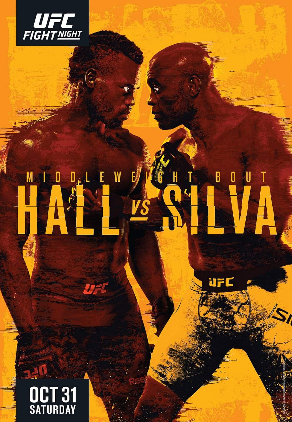 Risultati UFC Fight Night 181: Anderson Silva vs Uriah Hall 1