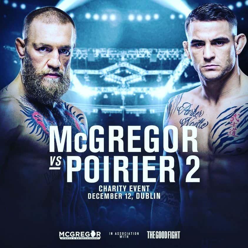 UFC 257 - Mcgregor vs Poirer 2 3