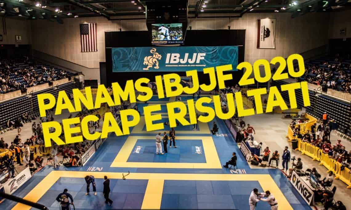 Recap e Risultati del Panamericano IBJJF 2020 1