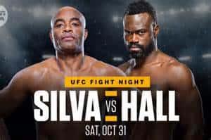 UFC Fight Night 181: Anderson Silva vs Uriah Hall 2