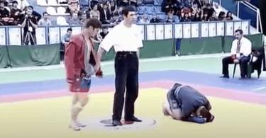 Video: l'unica sconfitta di Khabib Nurmagomedov (che scoppia in lacrime!) 19