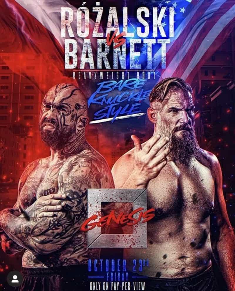 KSW GENESIS: Josh Barnett vs Marcin Rosalski 1