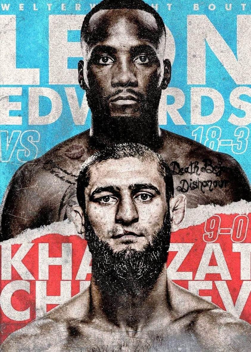UFC Fight Night 186:  Edwards vs Chimaev 1