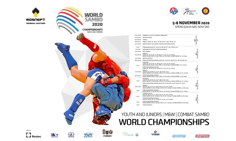 Mondiali di Sambo 2020 (Youth and Juniors, M&W, Combat SAMBO) 1