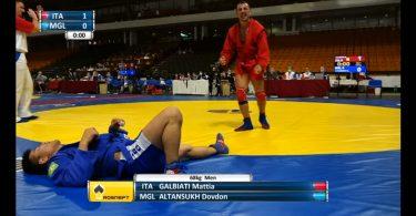 Intervista alla Medaglia di bronzo ai Mondiali di sambo per Mattia Galbiati 2