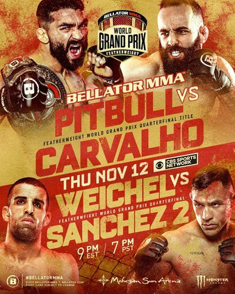 Bellator 252: Pitbull vs. Carvalho 1