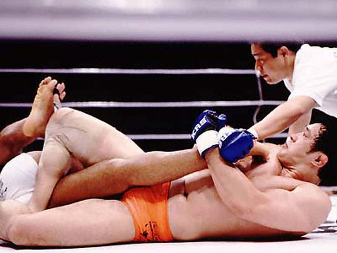 Sakuraba vs Newton: Il video della kneebar 1