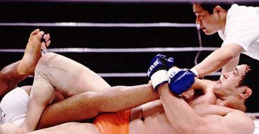 Sakuraba vs Newton: Il video della kneebar 20