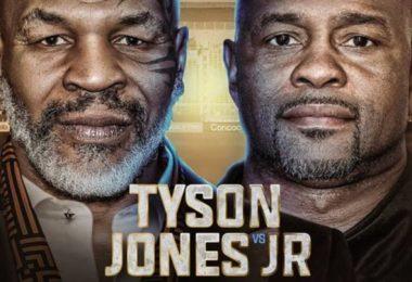Mike Tyson vs Jones Jr: Ora, Canale... Tutto quello che devi sapere sul match-esibizione. 1