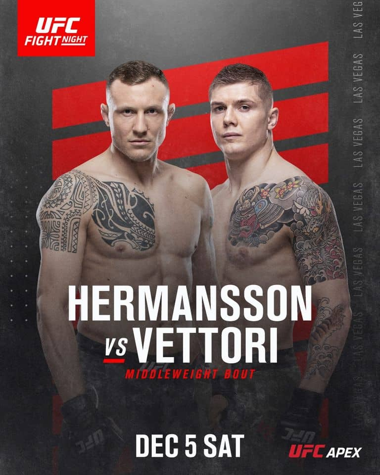 UFC on ESPN 19: Hermansson vs. Vettori 7