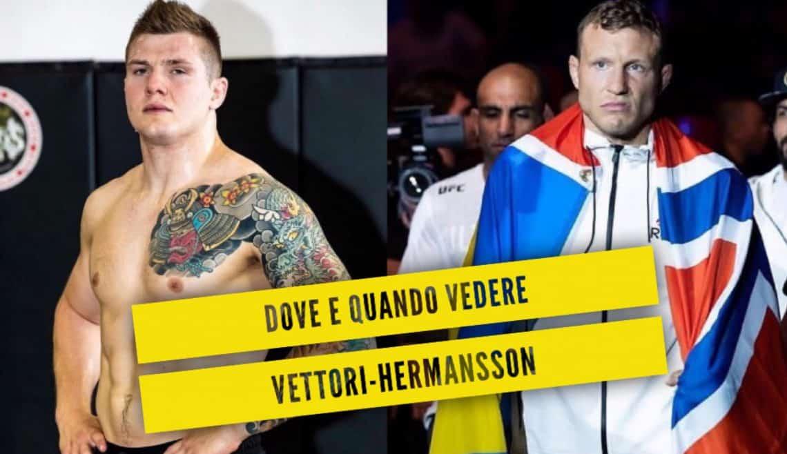 Dove e quando vedere Vettori-Hermansson: tutte le info 1