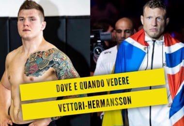 Dove e quando vedere Vettori-Hermansson: tutte le info 24