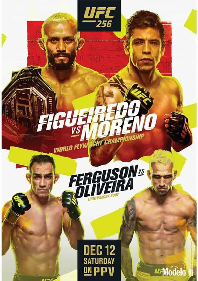 UFC 256: Figueiredo vs. Moreno 1