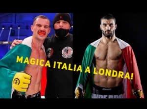 Magica Italia nelle MMA: Martignoni e Damiani conquistano Londra 2
