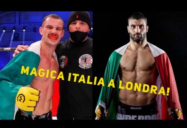 Magica Italia nelle MMA: Martignoni e Damiani conquistano Londra 1