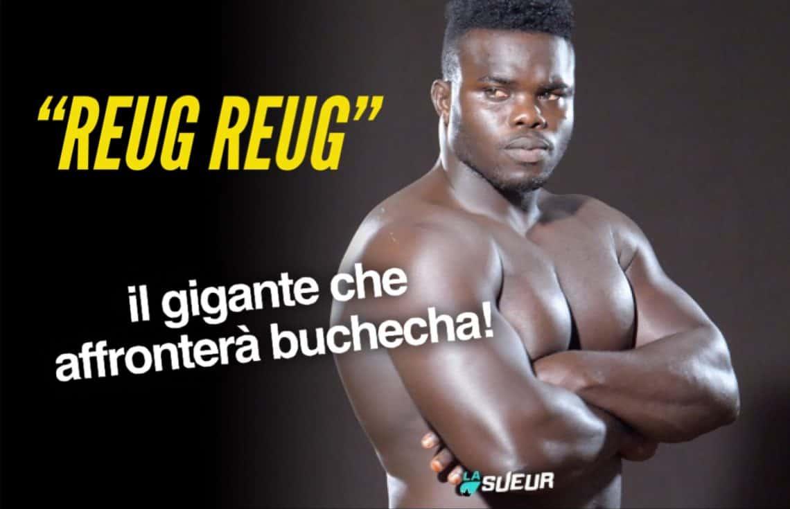 """Video: il debutto nelle MMA di """"Reug Reug"""", il gigante che affronterà Buchecha 1"""