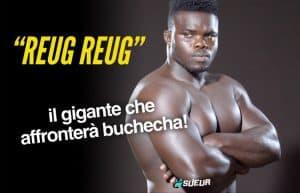 """Video: il debutto nelle MMA di """"Reug Reug"""", il gigante che affronterà Buchecha 2"""
