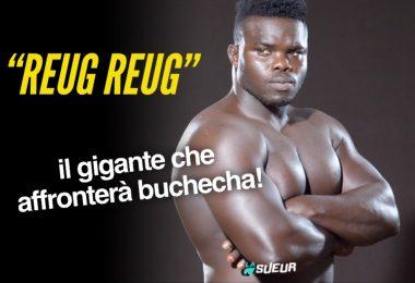 """Video: il debutto nelle MMA di """"Reug Reug"""", il gigante che affronterà Buchecha 13"""