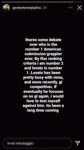 Gordon Ryan sfida Lovato, chi sarà il migliore americano di sempre nel BJJ? 2