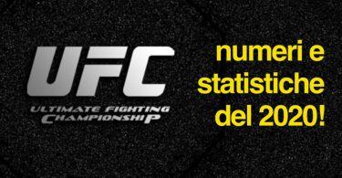 Tutti i numeri e le statistiche della UFC nel 2020 7