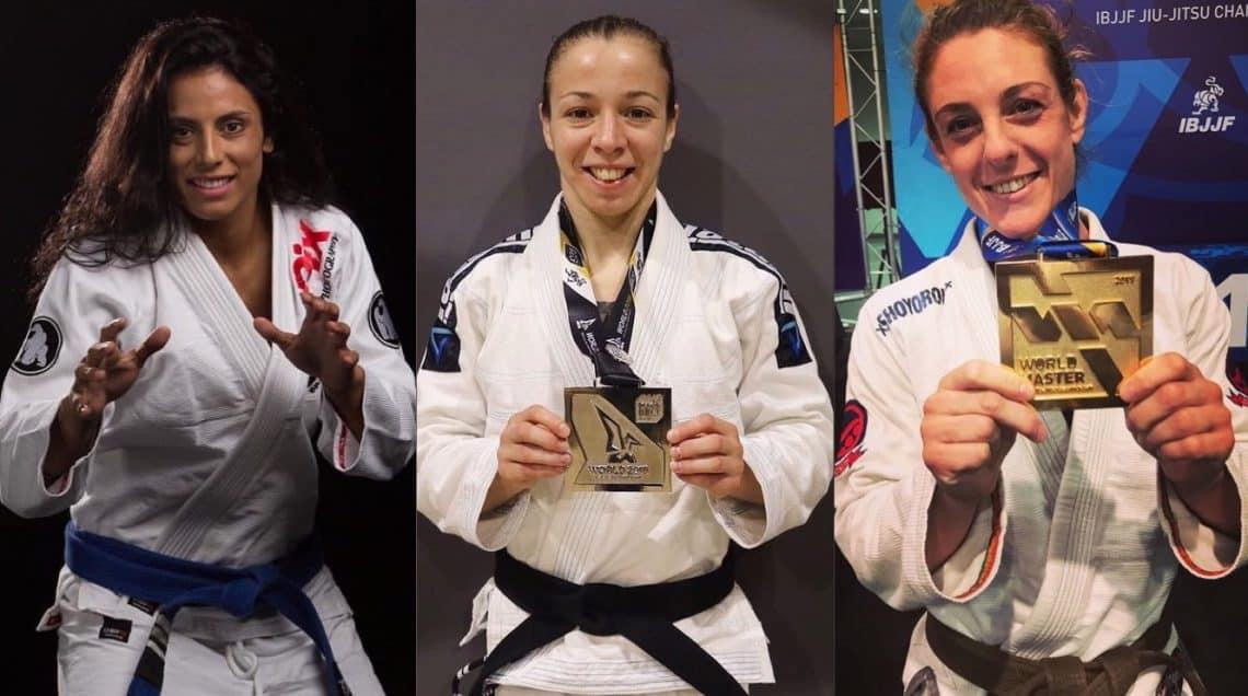 Tutte le italiane campionesse del mondo di BJJ 1